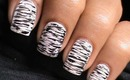 Black And White Nail Art - DressLink review - Nails Polish Cute Simple & Easy (Long & Short Designs)