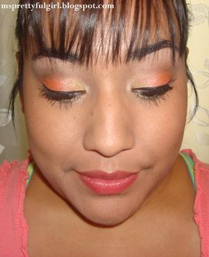 http://msprettyfulgirl.blogspot.com/2012/08/fotd-peachsicle.html