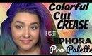 Colorful Watermelon Cut Crease Tutorial feat. Sephora Pro Editorial Palette (NoBlandMakeup)