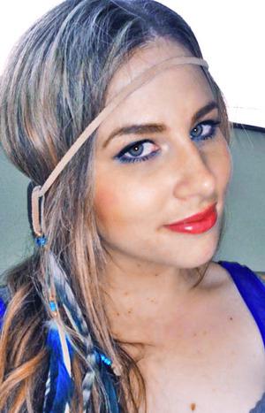 She Paints Me Blue