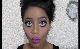 Creepy Harajuku Doll Halloween Tutorial