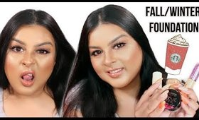 My Fall/Winter Foundation Routine | 2018