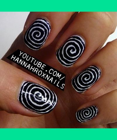 hypnosis nail art  hannah l's hannahroxit photo