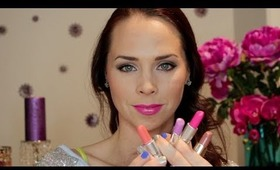 Pop of Color: 4 Spring Lipstick Looks!