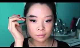 Black Smokey Eye for Monolid (Asian Makeup Tutorial)
