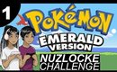 Pokémon Emerald Nuzlocke Challenge | Episode 1 | Video Game Trash