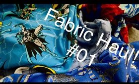 Fabric Haul #01