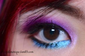 purple -turquoise