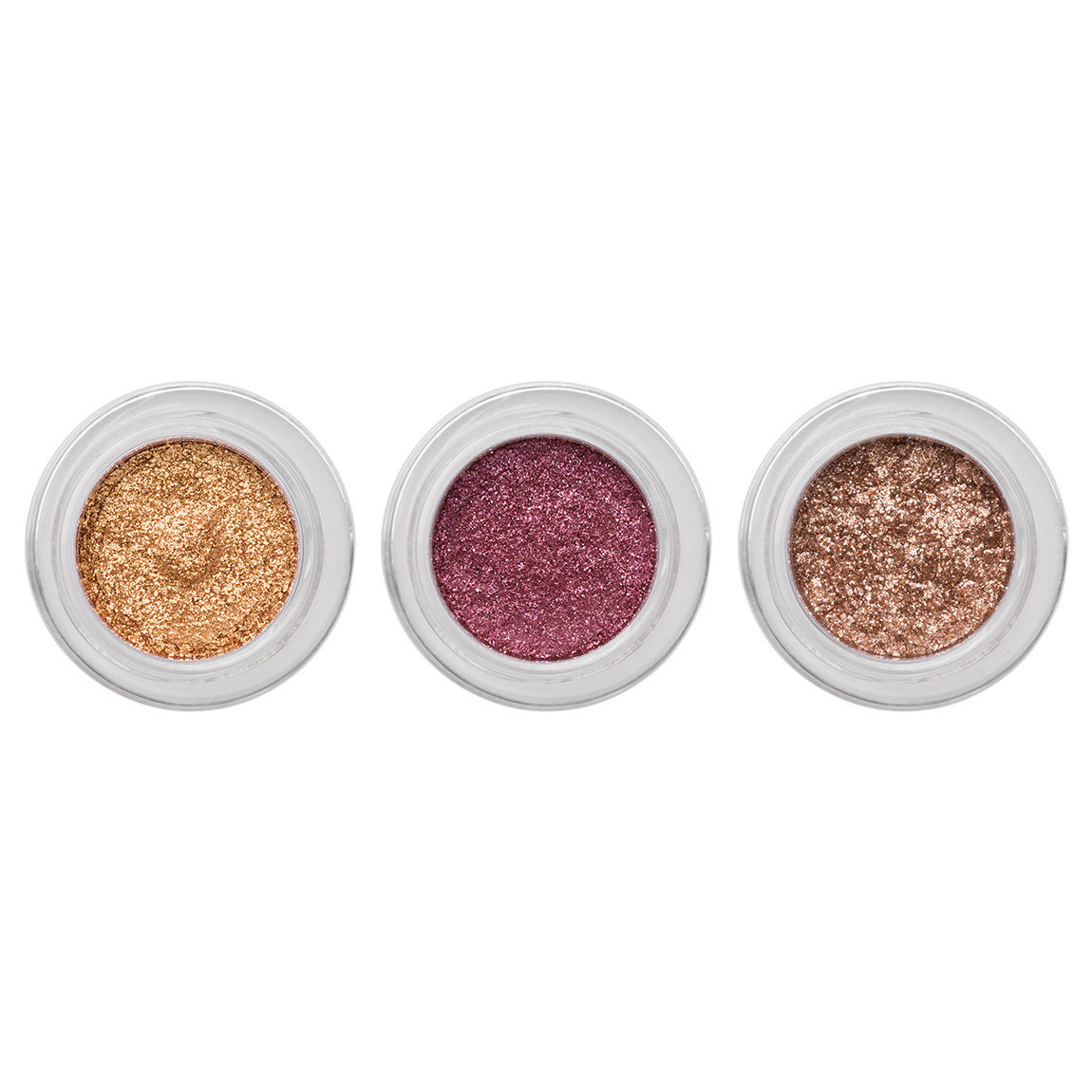 Hourglass Scattered Light Glitter Eyeshadow Collection product swatch.