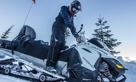 Snowmobiling in Whistler- A Global Stroll Vlog