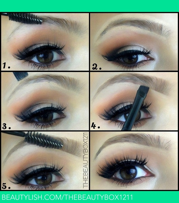 Eyebrow Tutorial Amanda Es Amandaensing Photo Beautylish
