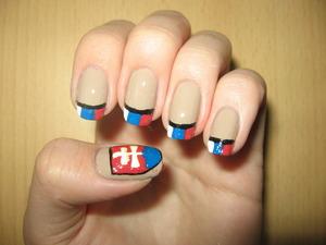 Slovak ice hockey team won silver medal yesterday, I'm very proud of them :)  http://arvonka-nails.blogspot.com/2012/05/drzme-palce-nasim-chlapcom.html