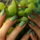 Green & Black With Dots