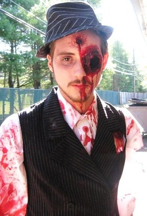 Some special FX makeup I did on my friend Shawn.