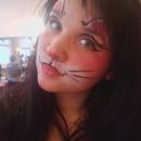 Faceart Kitten