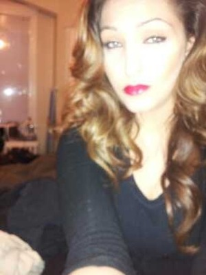 Deep contour and red lip ;)