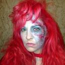 Work Halloween Party makeup