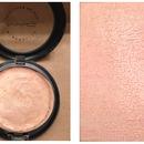 Homemade Makeup Swatches | Golden Rose Face Highlight