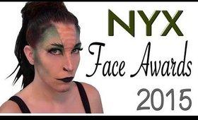 NYX Face Awards Entry 2015   The Dragon