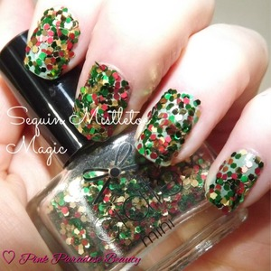 Sequin Nail Art