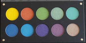 INGLOT 10-pan Round Palette