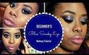 HOW TO | Drugstore Blue Smoky Eye for Beginners ♡ Chrisamor Beauty