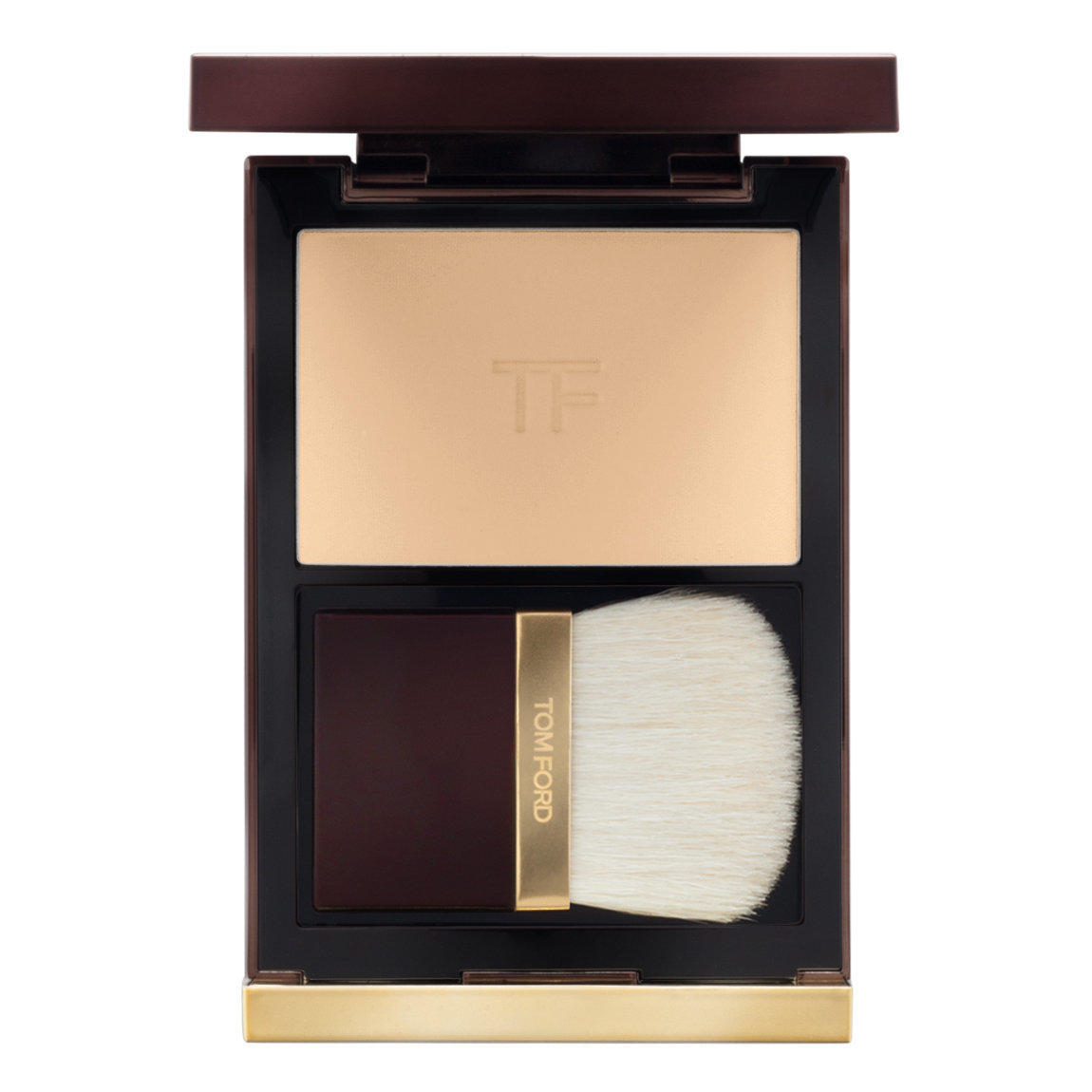 TOM FORD Illuminating Powder Translucent product swatch.