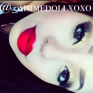 Belladona by Melt Cosmetics on my lips!