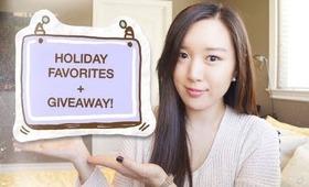 Holiday Favorites TAG + Giveaway!