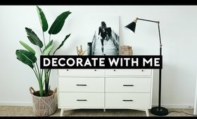 DECORATE MY APARTMENT WITH ME 2019 | Nastazsa