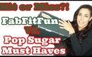 FabFitFun Vs PopSugar Must Haves   Winter Box Hit or Miss?   Vlogmas Day 11 [2019]
