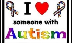 autisim awareness nail art