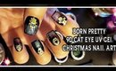 BORN PRETTY 9D CAT EYE UV GEL CHRISTMAS NAIL ART