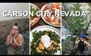 24 HOURS IN CARSON CITY NEVADA ⛰️ HOT SPRINGS, GOOD EATS, & OTHER THINGS TO DO IN CARSON CITY