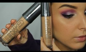 Urban Decay Naked Skin Foundation First Impressions Review ♥