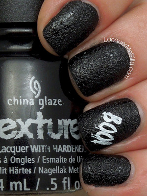 China Glaze Bump in the Night. More information can be found on my blog post http://www.lacquermesilly.com/2013/10/31/china-glaze-bump-night/