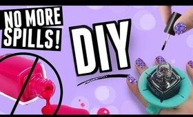 DIY Nail Polish Holder: Makes Painting Your Nails SO Much Easier!