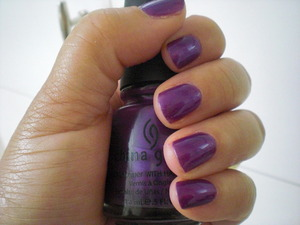 China Glaze Coconut Kiss (still as confused as ever about the name, but love this color).