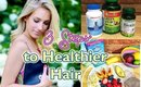 3 Steps to Healthier Hair | Katie's Bliss