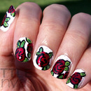 Red Rose Nails