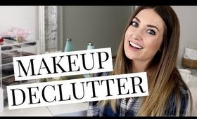 Makeup Collection Declutter | Kendra Atkins