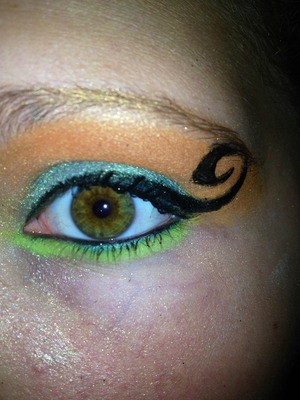 I also used lime by mac