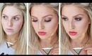 GRWM ♡ 100% Drugstore Affordable Daytime Red Lips, Bronze Eyes!