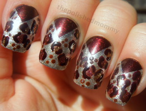 Full blog post: http://www.thepolishedmommy.com/2012/10/spicy-dream-leopard.html
