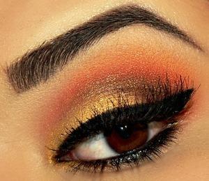 Makeup Geek Chickadee eyeshadow Sugarpill Flamepoint Pressed Eyeshadow Makeup Geek Eyeshadow Cocoa Bear Pop Beauty True Gold