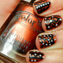 31 Day Challenge Tribal Nails