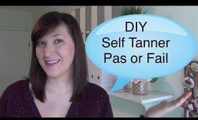 Pinterest Pass/Fail DIY Self Tanner 2 ways