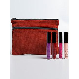 American Apparel Lipgloss and Make-Up Bag Set