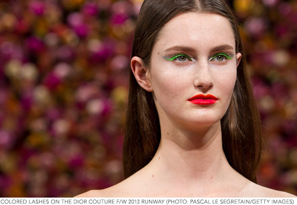 c2d04bcf303 Come spring we were all abuzz about colored mascara after it made a splash  on the runways at Stella McCartney. Pat McGrath did it again at the Dior  Couture ...