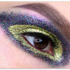 Glitter Sparkle Make Up Look
